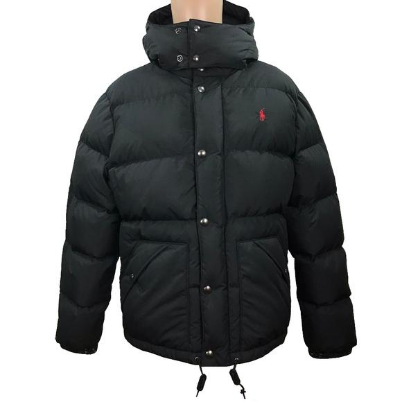 Polo by Ralph Lauren Other - Polo Ralph Lauren Mens Down Hooded Puffer Jacket
